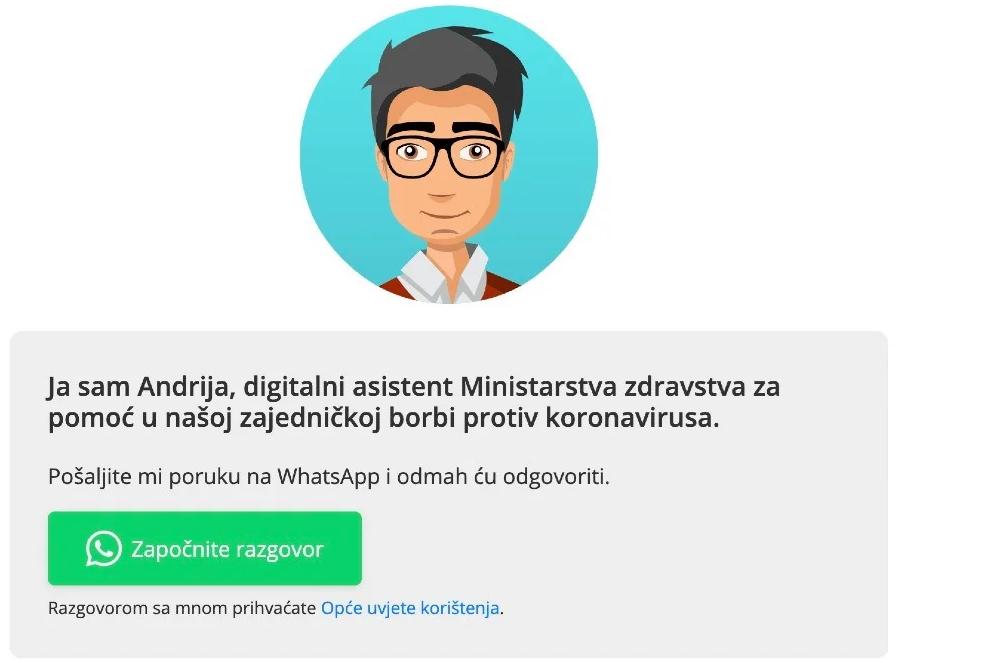 Promjena imena digitalnog asistenta Andrija u Zdravko